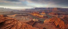 National Geographic Traveler Photography Competition - The jagged landscape of Dead Horse Point State Park in Utah is expertly shot by Frances Davies, who won the rural category (Frances Davies)