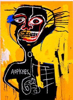Jean-Michel Basquiat:   Untitled (Aopkhes)