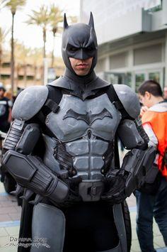 Character: Batman (Bruce Wayne) / From: DC Comics Warner Bros. Interactive Entertainment's 'Batman: Arkham City' & 'Batman: Arkham Origins' Video Game / Cosplayer: Unknown / Photography: Davan Srey