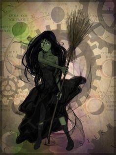 Witch of the West by senkomoon.deviantart.com on @DeviantArt