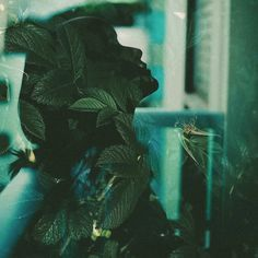 Stunning Double Exposures Portraits by Mohamed Reda #inspiration #photography