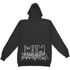 Motionless In White Men's All Black Everything Hooded Sweatshirt Black - http://bandshirts.org/product/motionless-in-white-mens-all-black-everything-hooded-sweatshirt-black/