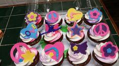 Amy's Crazy Cakes - Peace, Love and Gymnastics Cupcakes