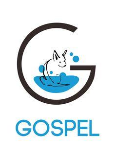 Diseño Logo Gospel, tienda de autolavado canino, valencia, Jose Gomez. Jogodesign. 2016