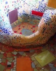 Mosaic spa bath