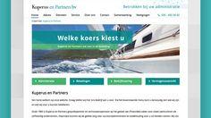 Website ontwerp voor een onafhankelijk financieel advieskantoor.