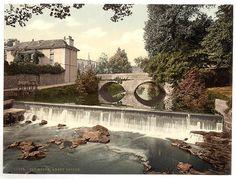 Abbey Bridge Tavistock - 25 x Fabric Topped Mouse Mat Woburn Abbey, Tavistock, Landscape Prints, British Isles, Beautiful Space, Plymouth, Devon, Niagara Falls, Vintage Posters