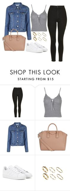 """""""Untitled #702"""" by ashleyxx67 ❤ liked on Polyvore featuring Topshop, Givenchy, adidas and River Island"""
