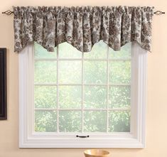 Cassidy Spa Lined Scallop Valance Curtain Valences For Windows, Window Cornices, General Store, Vermont, Window Treatments, Valance Curtains, Spa, Country, Classic