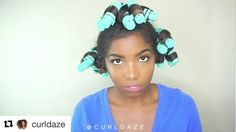 Curldaze with Ok guys heres the takedown of my po - Modern Hair Shrinkage, Bouncy Curls, Roller Set, Hair Videos, How To Get Money, Ponytail, My Hair, Natural Hair Styles, Guys