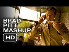 Brad Pitt : Eating Out - Mashup HD Movie - Brad Pitt Always Eats in Movies