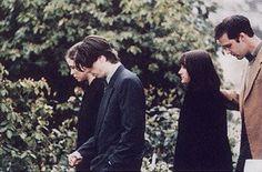 dave grohl and krist_novoselic at kurt cobain funeral   SAD