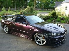 R34 Midnight Purple 3 - GT-R Register - Official Nissan Skyline and GTR Owners Club forum