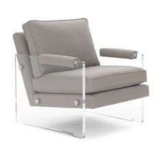 Mitchell Gold + Bob Williams: Classic Modern Home Furnishings Lucite Furniture, Home Decor Furniture, Home Furnishings, Acrylic Furniture, Furniture Ideas, Contemporary Home Furniture, Office Chair Without Wheels, Fabric Armchairs, Luxury Sofa