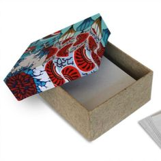 Patchwork Note Paper Box made by artisans in Kenya Hiv Positive, Employment Opportunities, Note Paper, Fair Trade, Kenya, Stationary, Artisan, Box, Collection