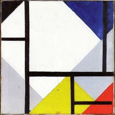 Theo van Doesburg, Simultaneous Counter-Composition, 1929