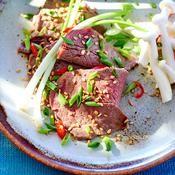 Lamelles de bœuf à la coréenne - une recette Barbecue - Cuisine