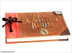 This is adorable! Ellie's adventure book engagement ring box (or you could use it for the ring barer) :)