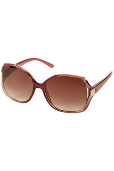 Summer Sunglasses looks for less - Large Plastic Square Sunglasses, $32