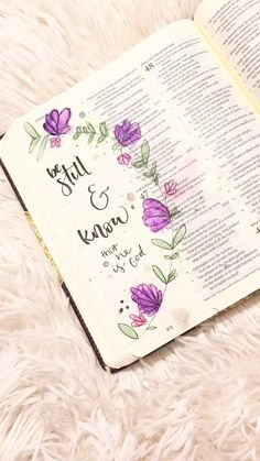 Bible Journaling - Grow in the Word creatively! Scripture Doodle, Scripture Art, Bible Art, Bible Scriptures, Bible Doodling, Bujo Inspiration, Journal Inspiration, Journal Ideas, Bible Studies