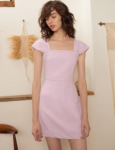 Pixie Market Paloma Pastel Dress - S Pink New Fashion Clothes, High Fashion Dresses, Casual Dresses For Women, Cute Dresses, Beautiful Dresses, Short Dresses, Fashion Outfits, Fashion Fall, Plus Size Goth Clothes