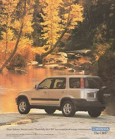 1998 ad for the Honda CR-V.