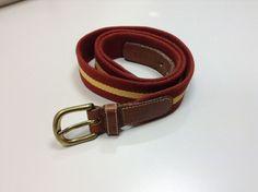 Dooney and Bourke Belt Size 36  Leather Surcingle Belt