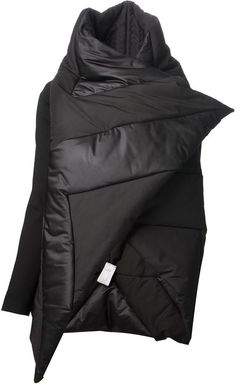 Gareth Pugh asymmetric padded jacket on shopstyle.com