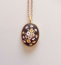 Polymer clay jewelry polymer clay pendant antique by Peritexno
