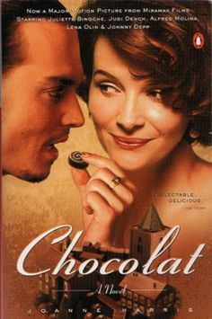 Yes. Juliette's character in this movie is my style icon. >> Chocolat and Johnny Depp. What's not to like?