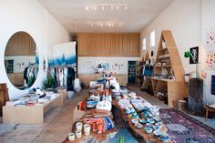 """Hannah Henderson of General Store Makes Us Swoon #refinery29  http://www.refinery29.com/2014/01/61206/hannah-henderson-general-store#slide2   How did it all begin? """"The shop was started by our amazing partners, Serena Mitnik-Miller and Mason St. Peter — who are also a couple — in San Francisco, and John and I opened up in Venice in 2012."""""""