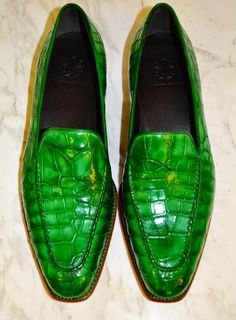 Massimo Ferrari Loafer in Green