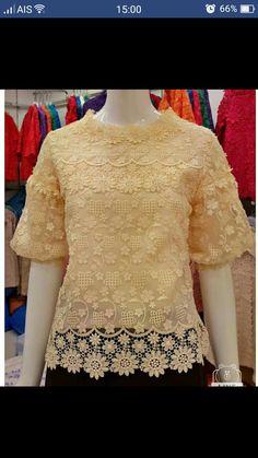 Plus Size Womens Clothing, Clothes For Women, Kebaya Wedding, Thailand Fashion, Kebaya Muslim, Mom Dress, Batik Dress, Chiffon Maxi Dress, Beautiful Blouses