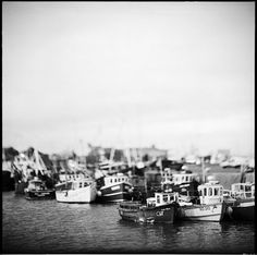 I love the dreamy, antiqued, and almost toy boat feel of this photograph.