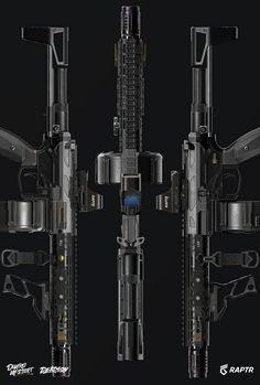 Sci Fi Weapons, Weapon Concept Art, Weapons Guns, Guns And Ammo, Steampunk Weapons, Ar Pistol Build, Battle Rifle, Military Guns, Military Jokes