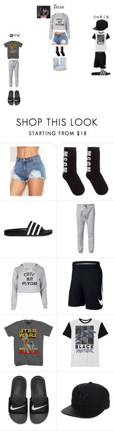 """LWH Chapter 2"" by dezmarron on Polyvore featuring MSGM, adidas Originals, Diesel, NIKE, Mad Engine and UGG"