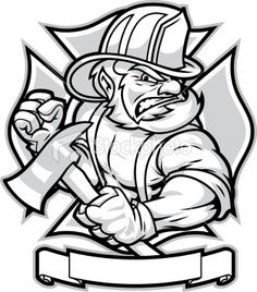 firefighter tattoo designs clip art | ... aug freeinternets largest selection of firefighters posts firefighter
