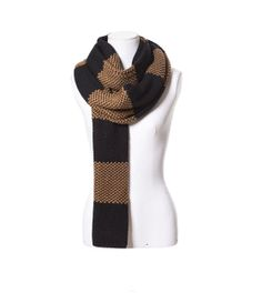 Image 2 of LONG NARROW SCARF WITH STRIPES from Zara