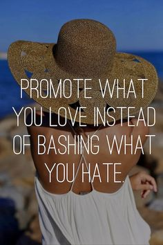 PROMOTE WHAT YOU LOVE.