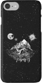 The Bicycle Day iPhone 7 Cases