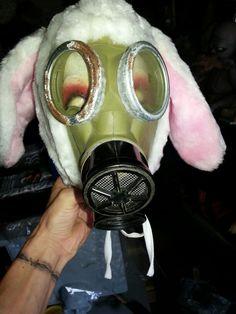 My new evil rabbit prop just starting Halloween Projects, Rabbit, Bunny, Rabbits, Bunnies