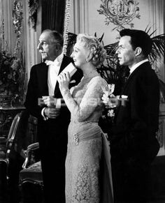 """Frank Sinatra and Celeste Holm in """"High Society"""" 1956 Celeste Holm, Old Music, Yesterday And Today, High Society, Musicals, Actors, Couple Photos, Silver, Movies"""