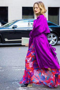 bold color fashion trend