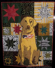 Live Free by Kathleen Everett (Batavia, New York).  2013 Houston IQF.  Photo by Quilt Inspiration.