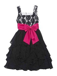 Rare Editions Girls 7-16 Black Fuchsia Soutache Cascade Chiffon Ruffle Dress, 14 Rare Editions http://www.amazon.com/dp/B00LCJ5ZO4/ref=cm_sw_r_pi_dp_dF9Ttb1MXFT30XG2