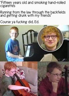 That lyin' Ed Sheeran - Humour Spot Ed Sheeran Facts, Ed Sheeran Memes, Ed Sheeran Love, Ed Sheeran Lyrics, Funny Cute, Hilarious, Movie Facts, Music Memes, Getting Drunk