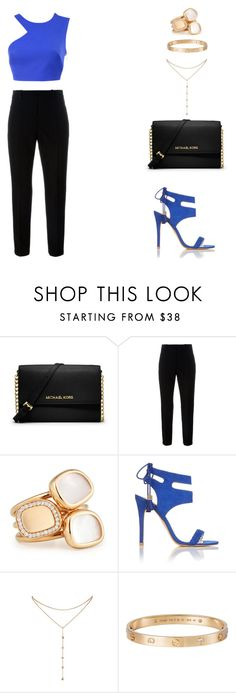 """""""let me love you {justin bieber}"""" by balsam01 ❤ liked on Polyvore featuring MICHAEL Michael Kors, Marni, Roberto Coin, Miss Selfridge, GUESS by Marciano and Cartier"""