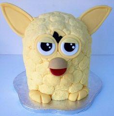 Furby Cake By Charmaine cakepins.com