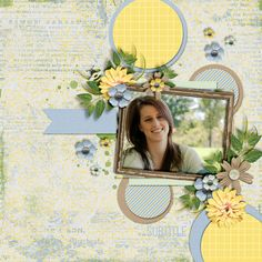 Lost In Nature by Aprilisa Designs Got Carrots Paper Pack by Blue Heart Scraps You Crack Me Up by Dagi's Temp-tations