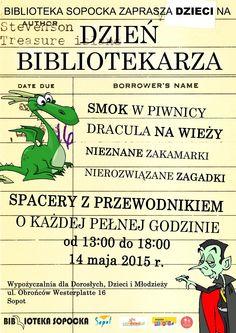 Dzień Bibliotekarza na dzieci ;) #mbpsopot #bibliotekasopocka #sopot #fun